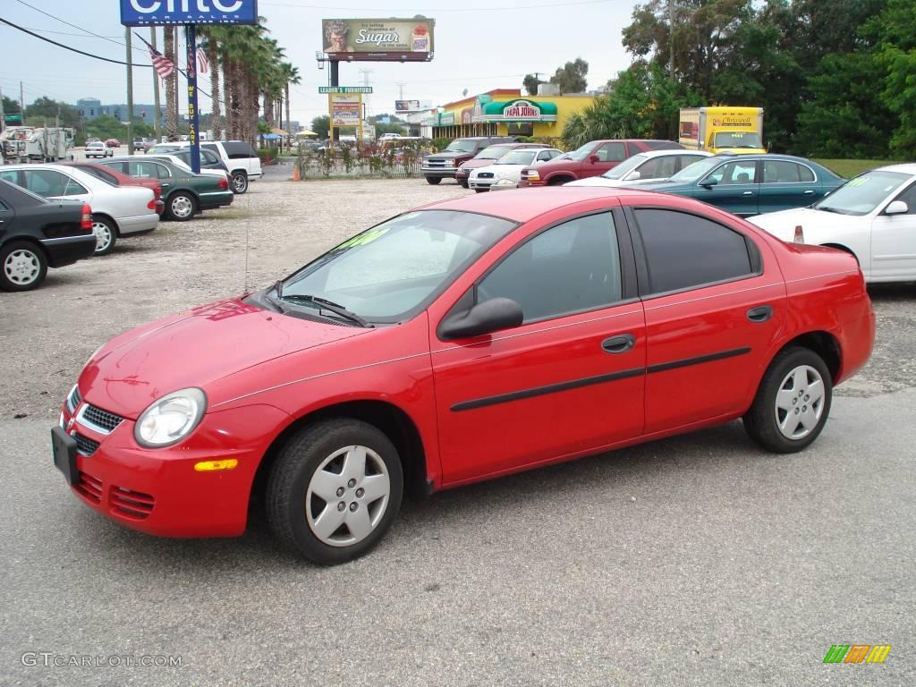 2003 Flame Red Dodge Neon Se 32391713 Photo 6 Gtcarlot