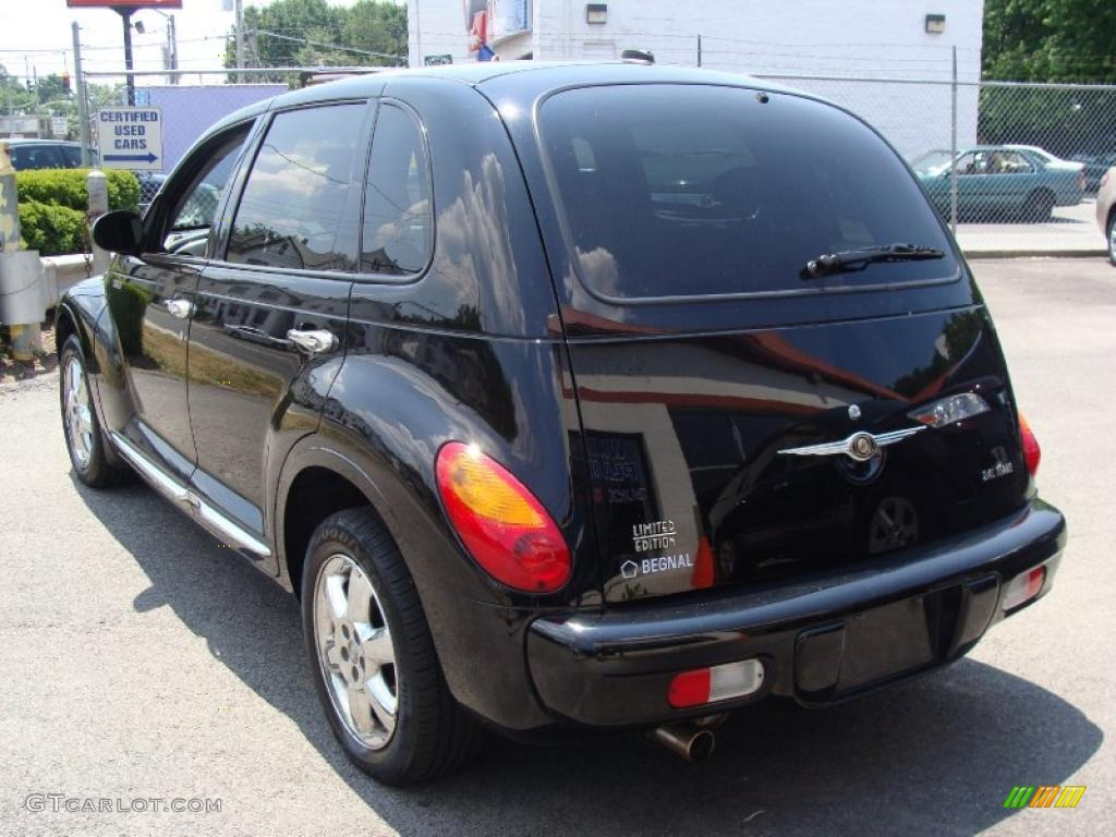 2005 black chrysler pt cruiser limited turbo 32466305. Black Bedroom Furniture Sets. Home Design Ideas