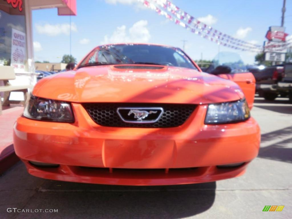 2000 Mustang GT Coupe - Performance Red / Dark Charcoal photo #29