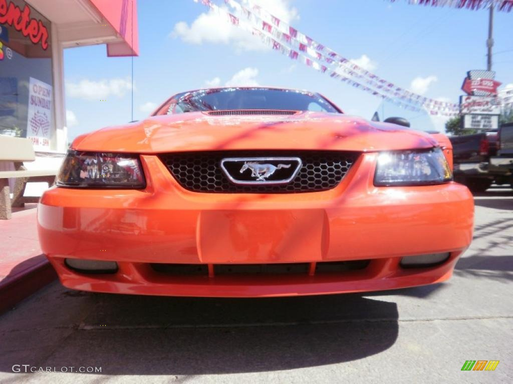 2000 Mustang GT Coupe - Performance Red / Dark Charcoal photo #30