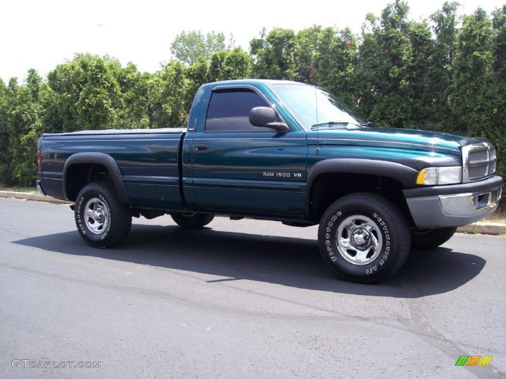 1998 emerald green pearl dodge ram 1500 laramie slt. Black Bedroom Furniture Sets. Home Design Ideas