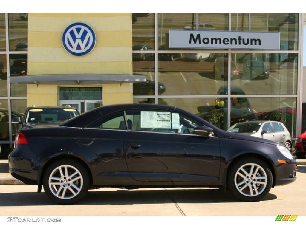 Thunder Blue Volkswagen Eos Lux