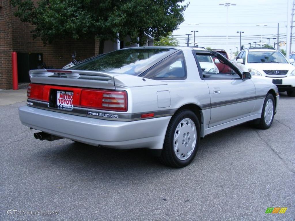 Super Silver Metallic 1989 Toyota Supra Turbo Targa Exterior Photo ...