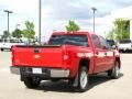 2009 Victory Red Chevrolet Silverado 1500 LT Crew Cab 4x4  photo #3