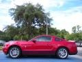 2011 Red Candy Metallic Ford Mustang V6 Premium Coupe  photo #2