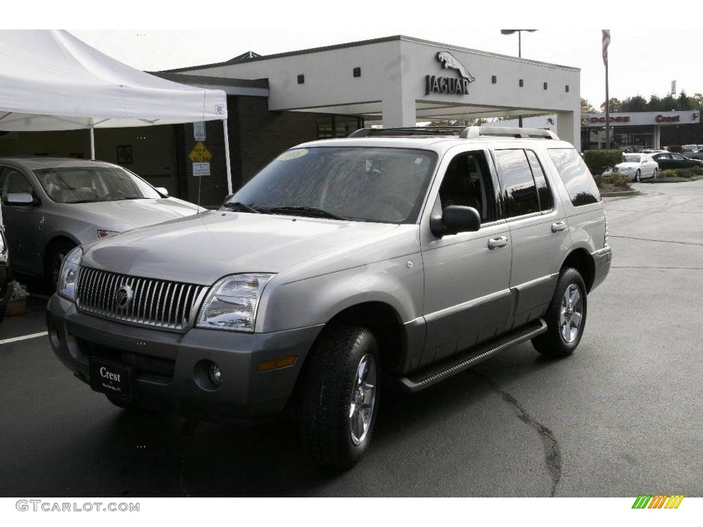 Satellite silver metallic mercury mountaineer