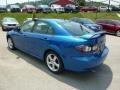2007 Bright Island Blue Metallic Mazda MAZDA6 i Touring Hatchback  photo #3