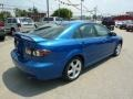 2007 Bright Island Blue Metallic Mazda MAZDA6 i Touring Hatchback  photo #5