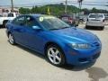 2007 Bright Island Blue Metallic Mazda MAZDA6 i Touring Hatchback  photo #7