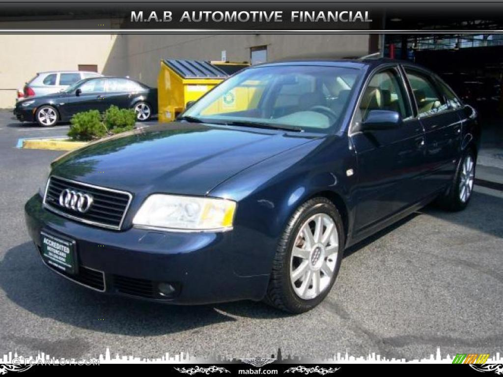 2004 night blue pearl effect audi a6 2 7t s line quattro. Black Bedroom Furniture Sets. Home Design Ideas