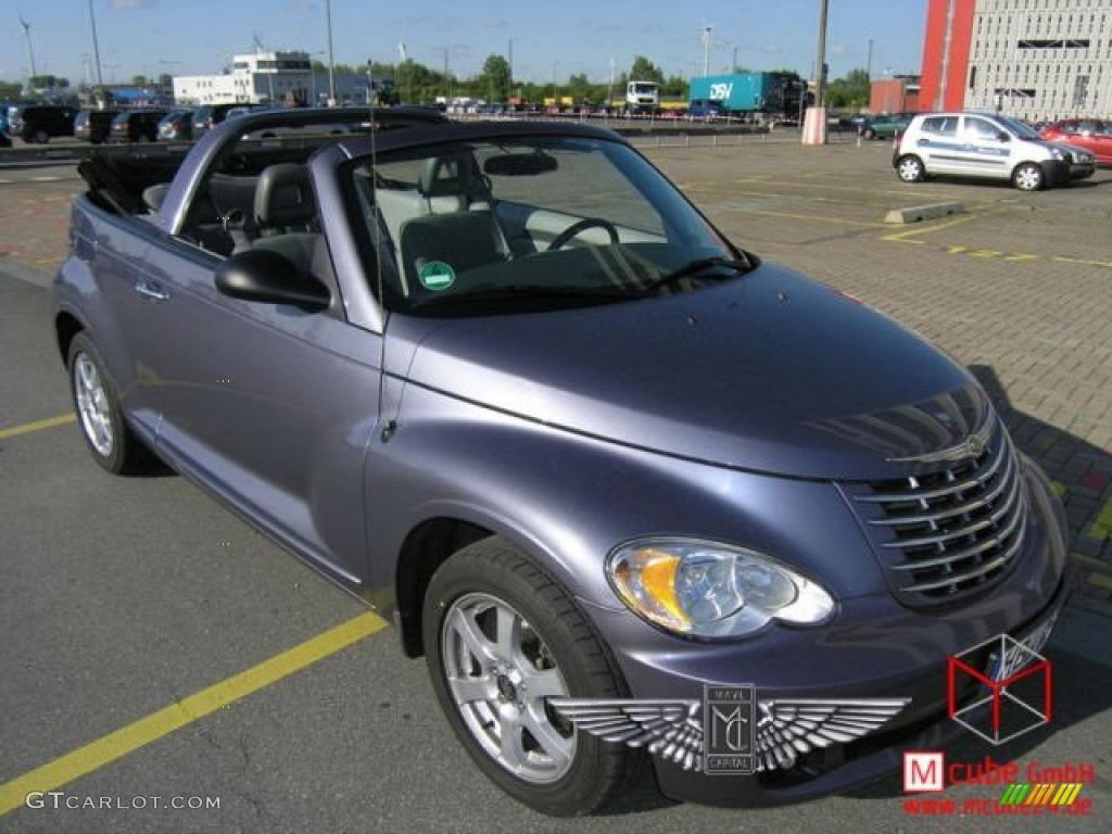 2007 PT Cruiser Convertible - Opal Gray Metallic / Pastel Slate Gray photo #1