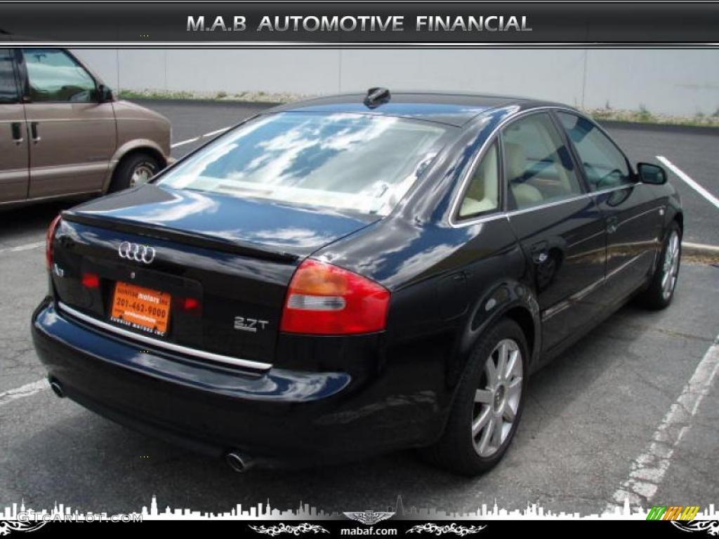 2004 Brilliant Black Audi A6 2.7T S-Line quattro Sedan ...  2004 Brilliant ...
