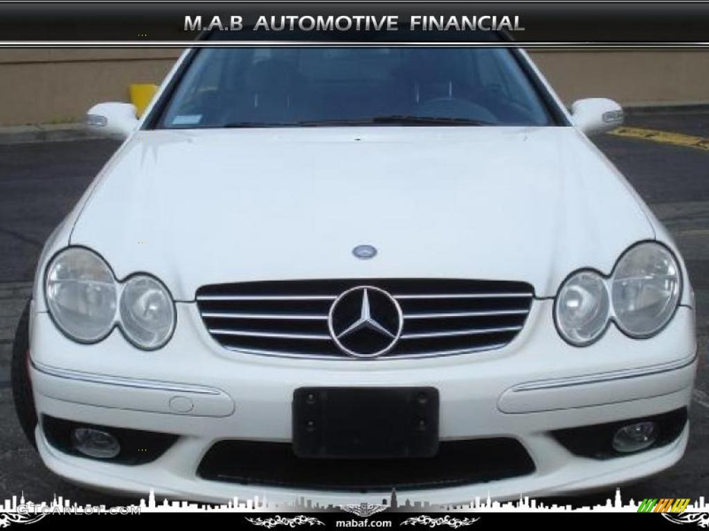 2003 Alabaster White Mercedes Benz Clk 500 Coupe 32604526