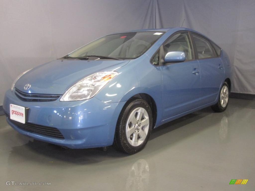 2005 Seaside Blue Pearl Toyota Prius Hybrid 32603981