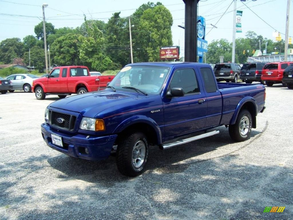 2004 sonic blue metallic ford ranger edge supercab 32682918 car color galleries. Black Bedroom Furniture Sets. Home Design Ideas
