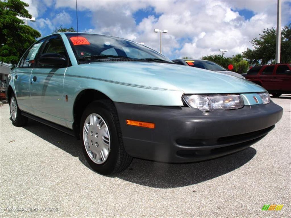 1997 Light Green Saturn S Series Sl1 Sedan 32681766