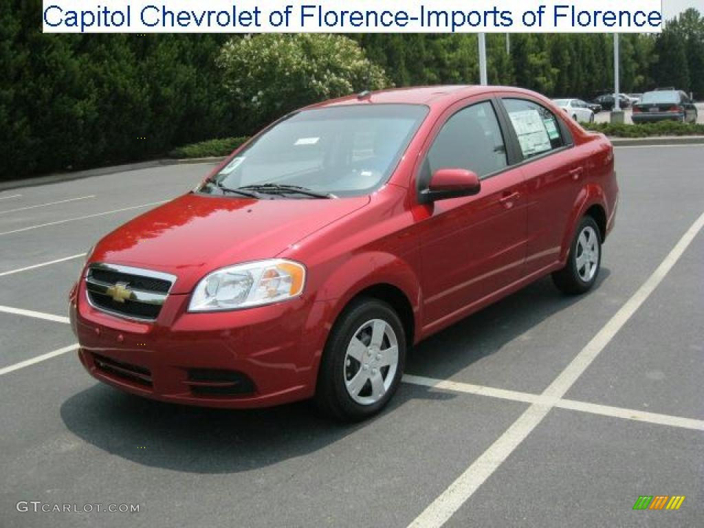 2010 sport red chevrolet aveo lt sedan 32683086 car color galleries. Black Bedroom Furniture Sets. Home Design Ideas