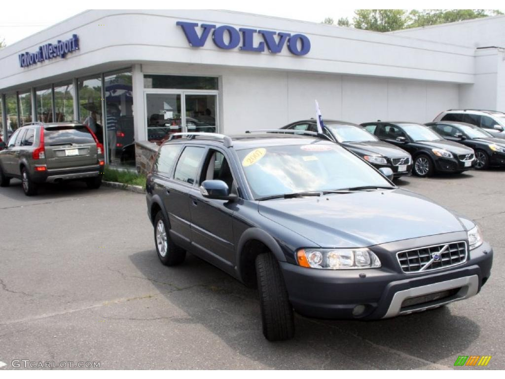 2007 barents blue metallic volvo xc70 awd cross country 32683124 car color. Black Bedroom Furniture Sets. Home Design Ideas