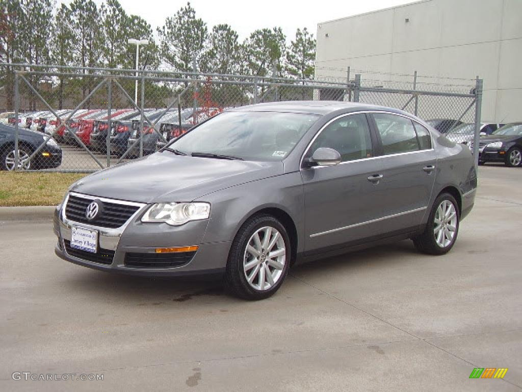 2006 united grey metallic volkswagen passat 2 0t sedan 3271945 car color galleries. Black Bedroom Furniture Sets. Home Design Ideas