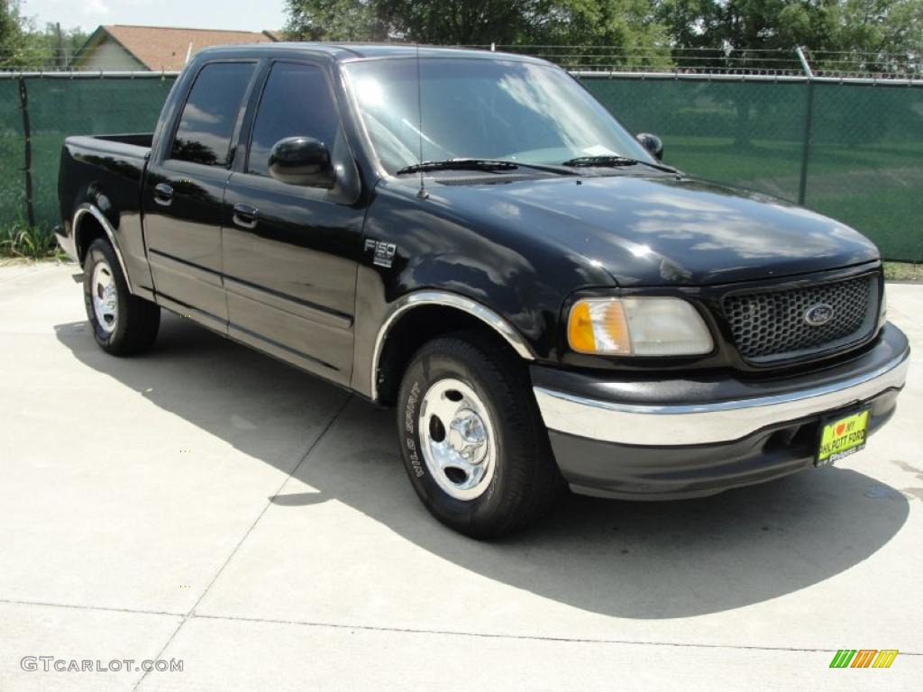 2001 Black Ford F150 XLT SuperCrew 32682419 Car Color Galle