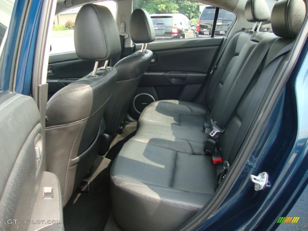 2007 Mazda Mazda3 S Grand Touring Sedan Rear Seat Photo 32785959