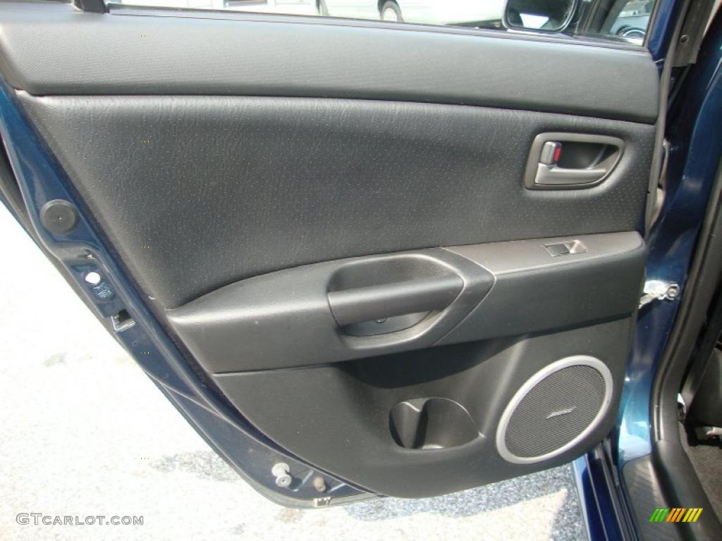 2007 mazda mazda3 s grand touring sedan door panel photos. Black Bedroom Furniture Sets. Home Design Ideas