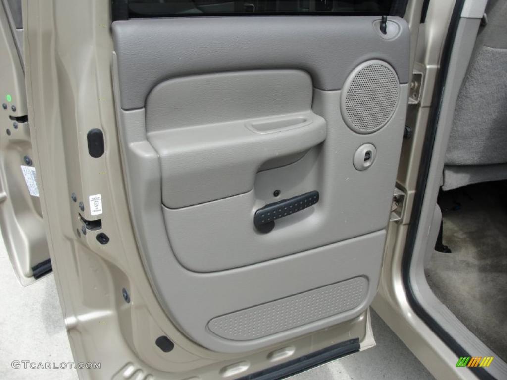 2002 Ram 1500 SLT Quad Cab - Light Almond Pearl / Taupe photo #23