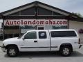2000 Summit White Chevrolet Silverado 1500 LS Extended Cab 4x4  photo #1