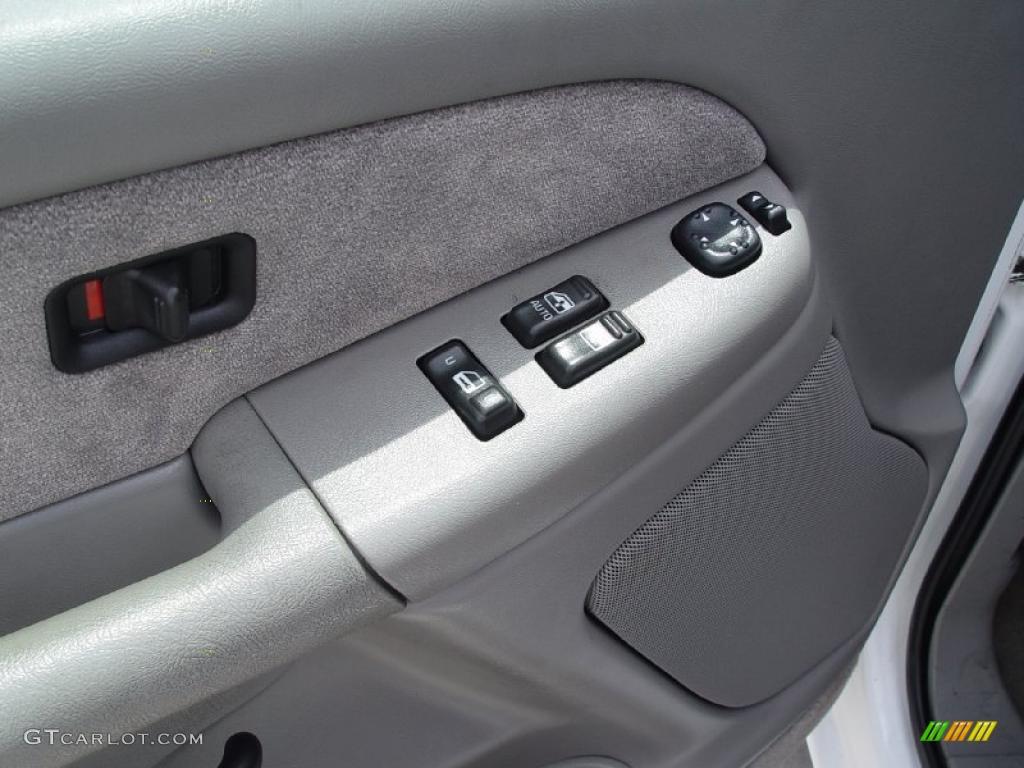 2000 Silverado 1500 LS Extended Cab 4x4 - Summit White / Medium Gray photo #7