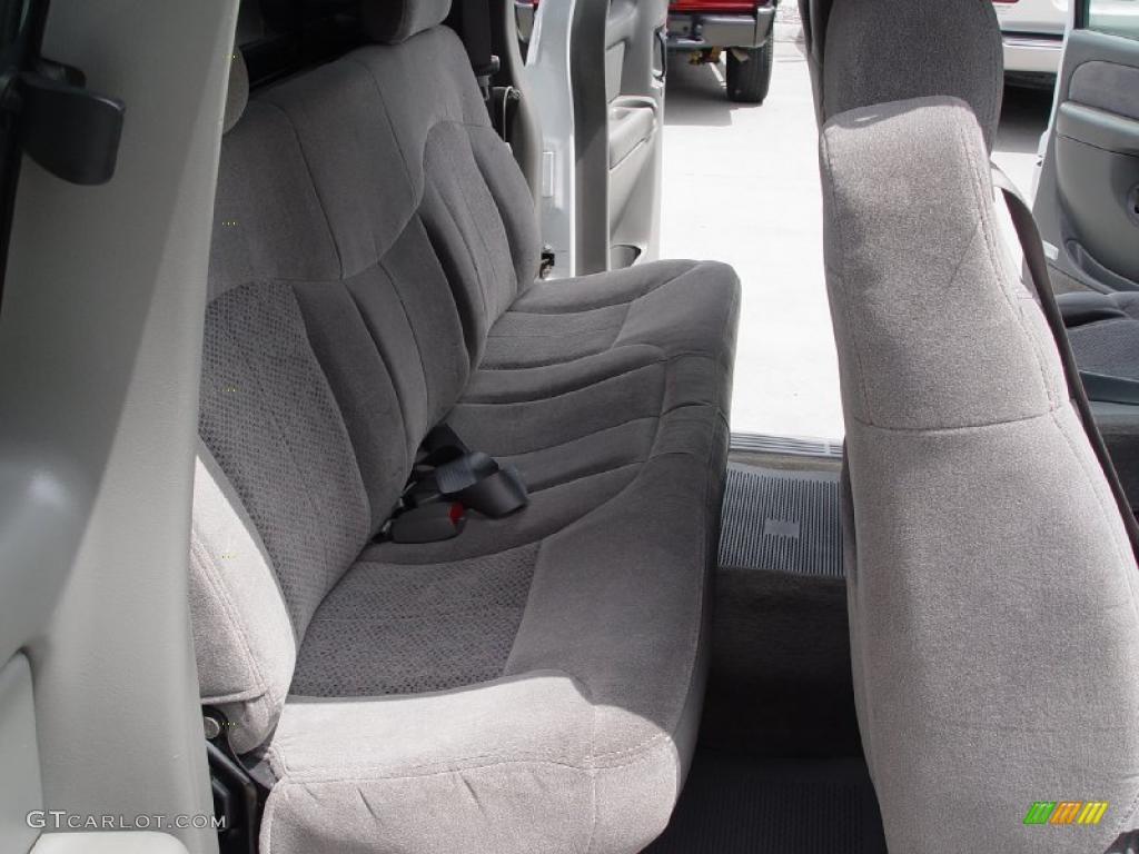 2000 Silverado 1500 LS Extended Cab 4x4 - Summit White / Medium Gray photo #27