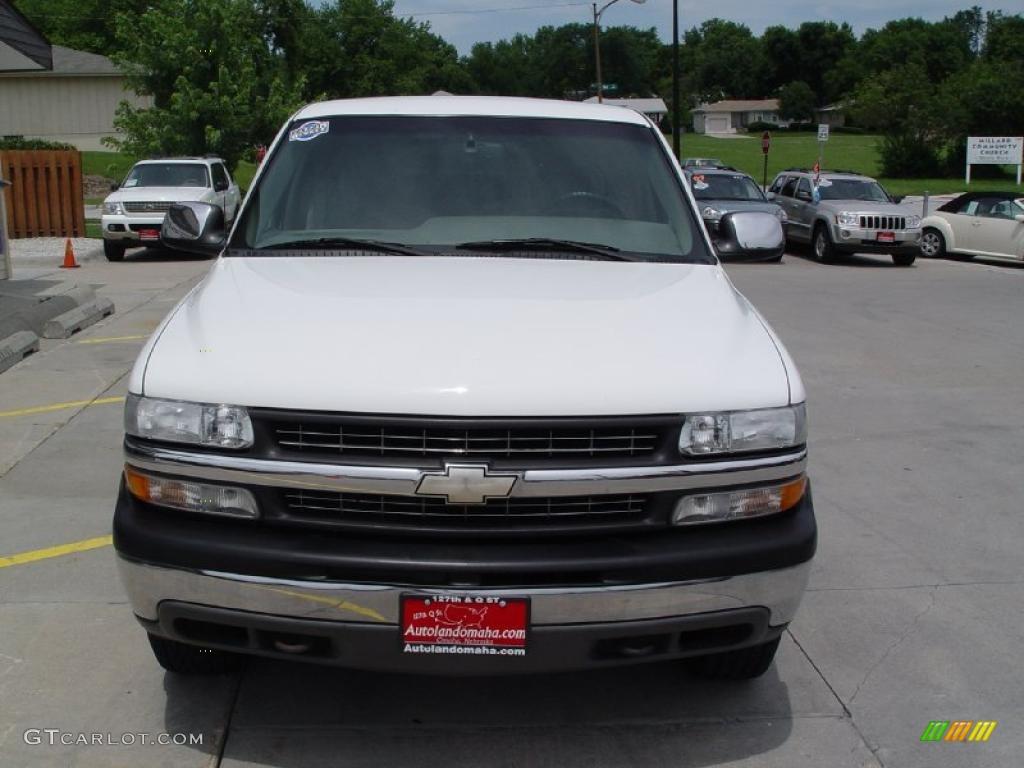 2000 Silverado 1500 LS Extended Cab 4x4 - Summit White / Medium Gray photo #28