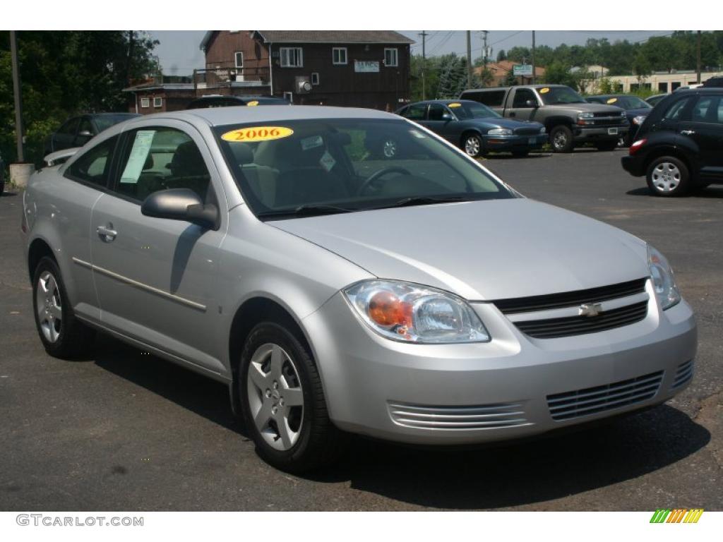 2006 Ultra Silver Metallic Chevrolet Cobalt Ls Coupe 32683286 Gtcarlot Com Car Color Galleries