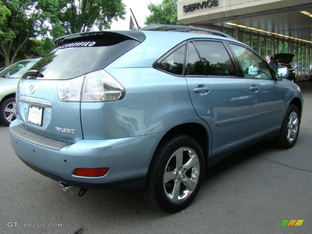 2007 breakwater blue metallic lexus rx 350 awd 32808290 photo 5 car color. Black Bedroom Furniture Sets. Home Design Ideas