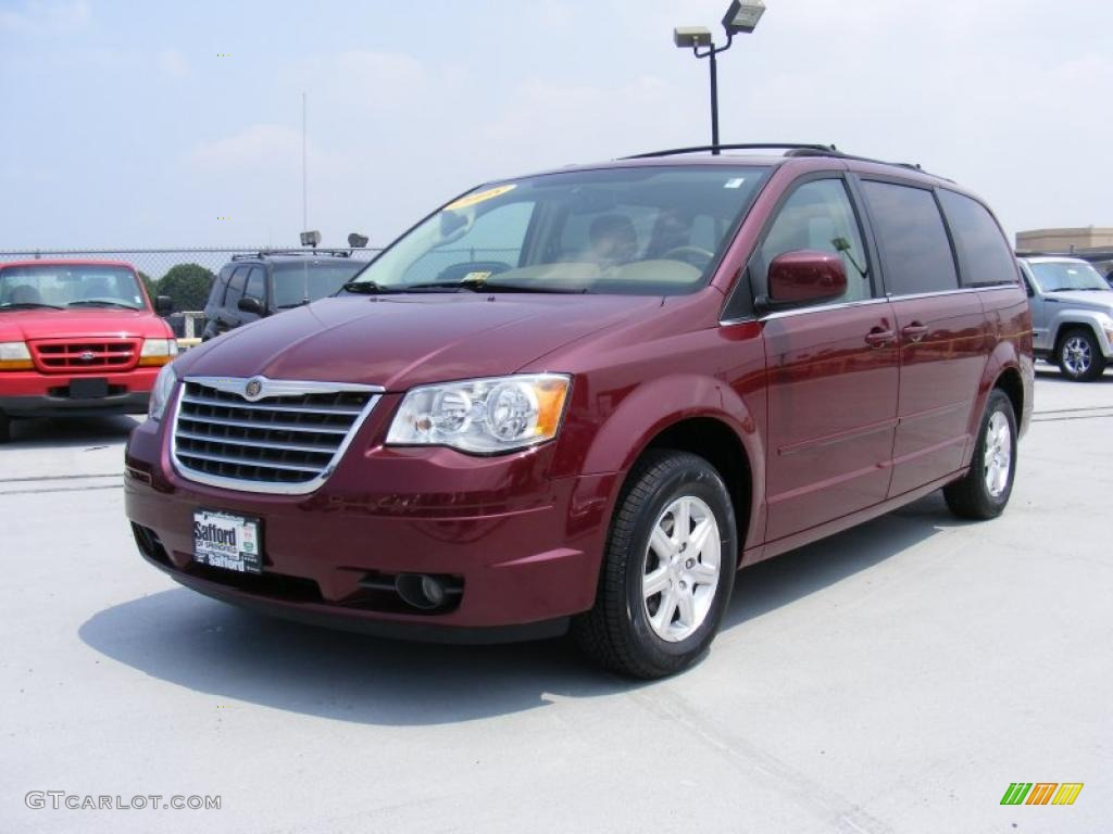2008 inferno red crystal pearlcoat chrysler town country touring 32808505. Black Bedroom Furniture Sets. Home Design Ideas