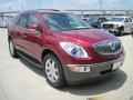 2010 Red Jewel Tintcoat Buick Enclave CXL  photo #2