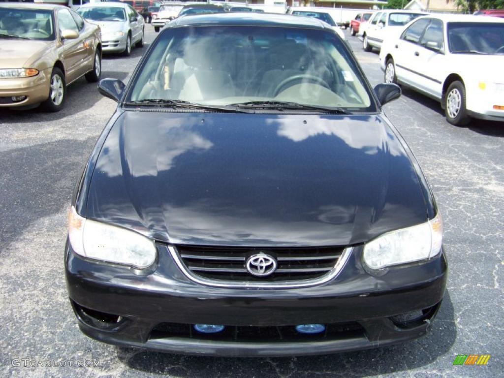 Toyota Corolla Interior 2002 2002 Toyota Corolla ce Black Sand Pearl Color Black Interior