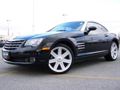 Chrysler Crossfire 2004. 2004 Black Chrysler Crossfire