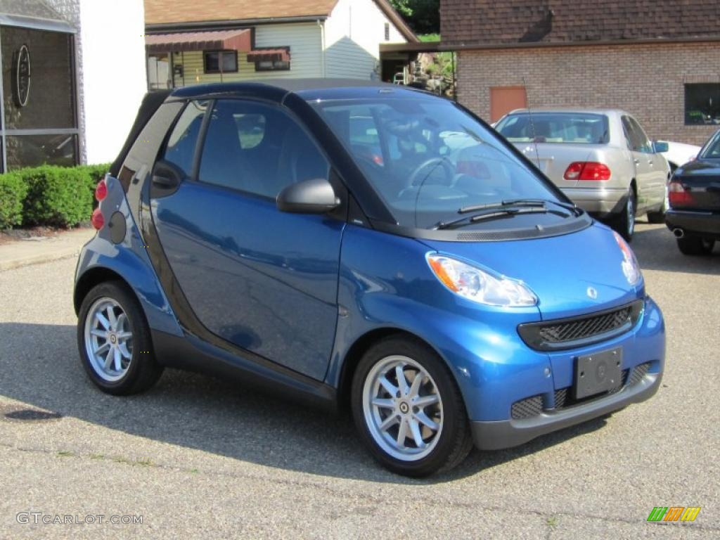 Blue Metallic Smart Fortwo