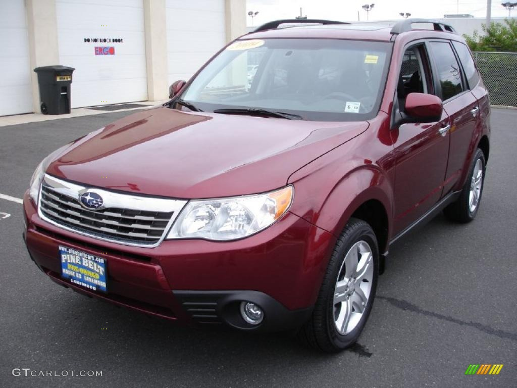2009 camellia red pearl subaru forester 25 x limited 32846414 camellia red pearl subaru forester vanachro Gallery