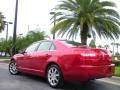 2008 Vivid Red Metallic Lincoln MKZ Sedan  photo #8