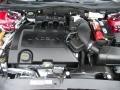 2008 Vivid Red Metallic Lincoln MKZ Sedan  photo #23