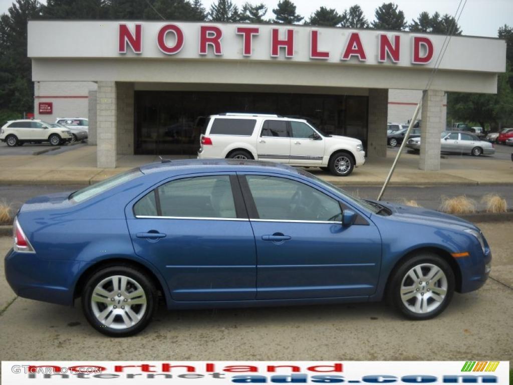 2009 sport blue metallic ford fusion sel v6 32855906 car color galleries. Black Bedroom Furniture Sets. Home Design Ideas
