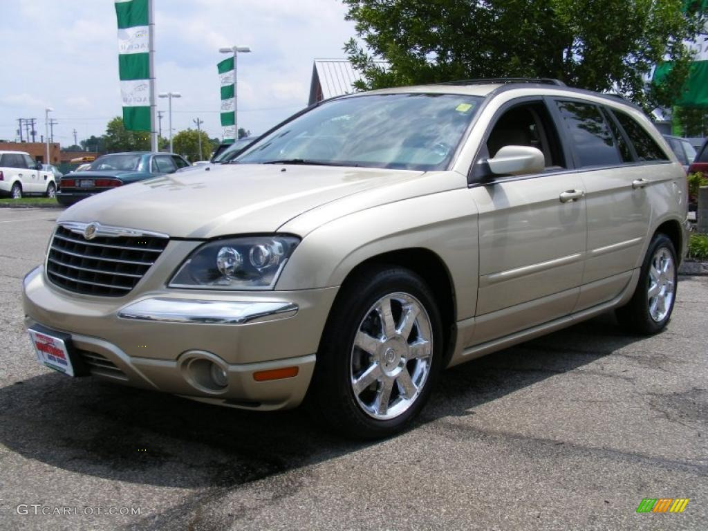 2005 linen gold metallic pearl chrysler pacifica limited awd 32855741 car. Black Bedroom Furniture Sets. Home Design Ideas
