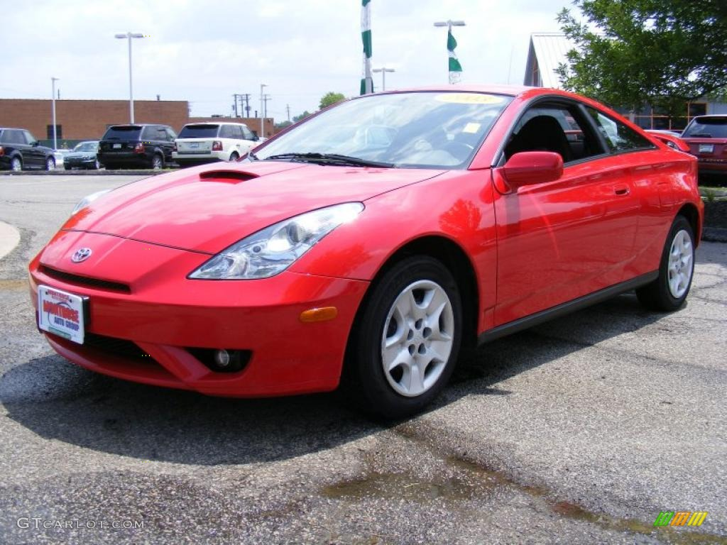 2003 absolutely red toyota celica gt 32855743 gtcarlot. Black Bedroom Furniture Sets. Home Design Ideas