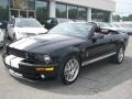 2007 Black Ford Mustang Shelby GT500 Convertible  photo #24