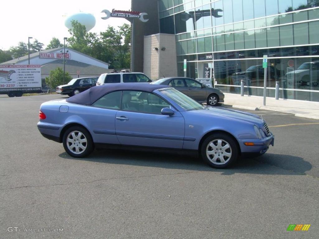 1999 quartz blue metallic mercedes benz clk 320 for Blue mercedes benz