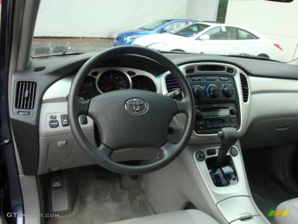 2006 Bluestone Metallic Toyota Highlander V6 4wd 32856492 Photo 14 Car Color