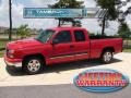 2006 Victory Red Chevrolet Silverado 1500 LS Extended Cab  photo #1