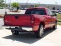 2006 Victory Red Chevrolet Silverado 1500 LS Extended Cab  photo #7