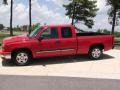 2006 Victory Red Chevrolet Silverado 1500 LS Extended Cab  photo #11